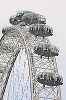 LONDRES-UK-25-05-2013. London Eye, Londes. London Eye, London. Photo: VizzorImage