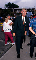 Montreal (Qc) CANADA - File Photo, circa 1992<br /> -<br /> Gilles Duceppe, deputy , the Bloc Quebecois<br /> <br /> photo (c)  Images Distribution