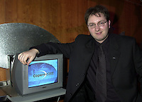 Montreal, November 1st, 2000<br /> Martin Bouchard, President and CEO of Copernic.Com was giving a press conference today in Montreal, Canada to announce tha latest results and also to launch new products.<br /> Copernic.Com is actively developing new solutions based on intelligent search agent  for the internet  and also for companies intranets. It's main solution ;  Copernic 2000 is the most important client search program on the internet  and has received many positive reviews from publication such as USA Today, Forbes,  PC Magazine, PC world, ...<br /> <br /> The company is now (2008) known as  www.mamma.com the mother of all search engines.
