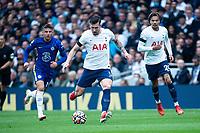 19th September 2021; Tottenham Hotspur Stadium, Tottenham, London; Pierre-Emile Hojbjerg and Mason Mount during the Premier League match between Tottenham Hotspur and Chelsea at Tottenham Hotspur Stadium