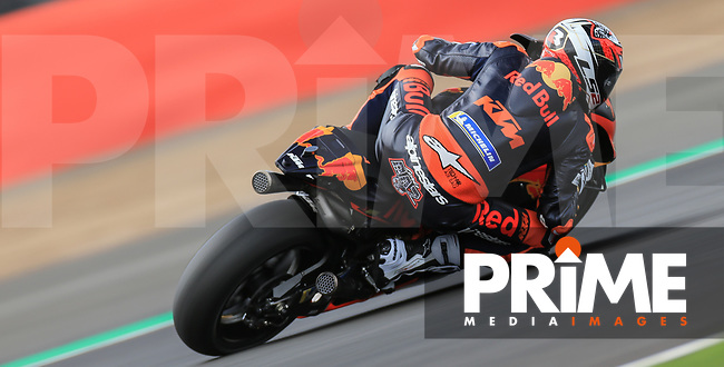 Loris Baz (76) of the Red Bull KTM Factory Racing race team during the GoPro British MotoGP at Silverstone Circuit, Towcester, England on 24 August 2018. Photo by Chris Brown / PRiME Media Images