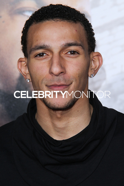 """HOLLYWOOD, CA - JANUARY 13: Khleo Thomas at the Los Angeles Premiere Of Universal Pictures' """"Ride Along"""" held at the TCL Chinese Theatre on January 13, 2014 in Hollywood, California. (Photo by David Acosta/Celebrity Monitor)"""