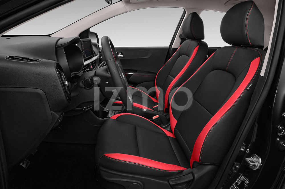 Front seat view of a 2019 KIA Picanto GT Line 5 Door Hatchback front seat car photos