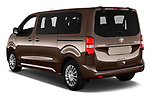 Car pictures of rear three quarter view of 2018 Toyota Proace-Verso MPV 5 Door Minivan Angular Rear