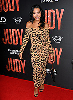 """LOS ANGELES, USA. September 20, 2019: Naya Rivera at the premiere of """"Judy"""" at the Samuel Goldwyn Theatre.<br /> Picture: Paul Smith/Featureflash"""