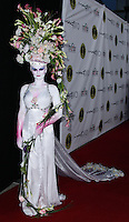 HOLLYWOOD, CA, USA - FEBRUARY 15: Human Vase at The Annual Make-Up Artists And Hair Stylists Guild Awards held at the Paramount Theatre on February 15, 2014 in Hollywood, Los Angeles, California, United States. (Photo by Xavier Collin/Celebrity Monitor)
