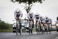 Team Trek-Segafredo<br /> <br /> 12th Eneco Tour 2016 (UCI World Tour)<br /> stage 5 (TTT) Sittard-Sittard (20.9km) / The Netherlands