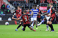 Lucas Joao of Reading right has a shot on goal during AFC Bournemouth vs Reading, Sky Bet EFL Championship Football at the Vitality Stadium on 21st November 2020