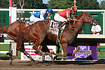 Coil with Martin Garcia aboard pulls out the win in the Grade 1 Haskell Invitational for 3 year olds at 1 1/8 mile at Monmouth Park.  Trainer Bob Baffert.  Owners Karl Watson, Michael Pegram and Paul Weitman.