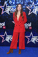 Jade Bird<br /> arriving for the Global Awards 2019 at the Hammersmith Apollo, London<br /> <br /> ©Ash Knotek  D3486  07/03/2019