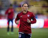 Christie Rampone. The USWNT tied New Zealand, 1-1, at an international friendly at Crew Stadium in Columbus, OH.