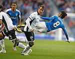 Gedion Zelalem fouled