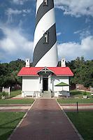 The historic St. Augustine lighthouse on Anastasia Island.