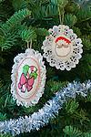 Handmade Christmas Ornaments, Bellevue, WA, USA