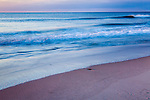 Sunrise on Nauset Beach in Orleans, Cape Cod, Massachusetts, USA