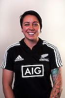 Vaine Greig. New Zealand Black Ferns headshots at The Rugby Institute, Palmerston North, New Zealand on Thursday, 28 May 2015. Photo: Dave Lintott / lintottphoto.co.nz