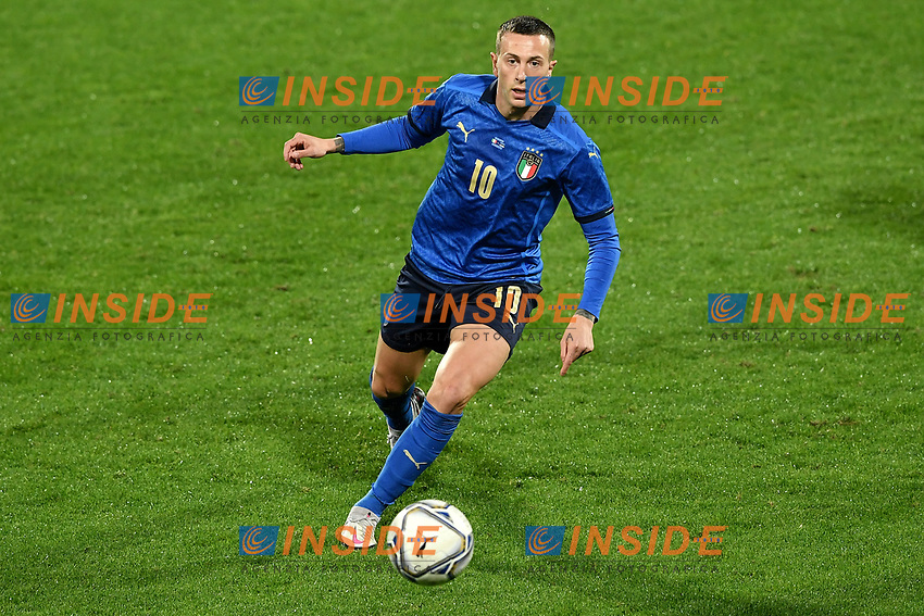 Federico Bernardeschi of Italy in action during the friendly football match between Italy and Estonia at Artemio Franchi Stadium in Firenze (Italy), November, 11th 2020. Photo Andrea Staccioli/ Insidefoto