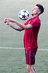 Atletico de Madrid's Jose Maria Gimenez during training session. May 9,2017.(ALTERPHOTOS/Acero)