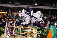 AUS-Katie Laurie rides Casebrooke Lomond during the Jumping Individual Qualifier. Tokyo 2020 Olympic Games. Tuesday 3 August 2021. Copyright Photo: Libby Law Photography