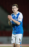 St Johnstone v Ross County…24.10.17…  McDiarmid Park…  SPFL<br />Blair Alston<br />Picture by Graeme Hart. <br />Copyright Perthshire Picture Agency<br />Tel: 01738 623350  Mobile: 07990 594431