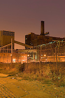 Abandoned Domino Sugar Factory in the Williamsburg section of Brooklyn, New York City, New York State, USA