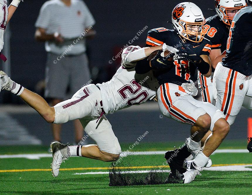 Middleton at Verona   Wisconsin high school football Oct. 1, 2021