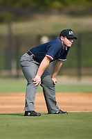 John Alvarez handles the base paths in an Appalachian League contest between the Johnson City Cardinals and the Danville Braves at Dan Daniels Park in Danville, VA, Sunday July 27, 2008.