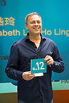 SHA TIN,HONG KONG-APRIL 28: Caspar Fownes,the trainer of Dundonnell (Champions Mile) at Champions Mile/Chairman's Sprint Prize Barrier Draw at Sha Tin Racecourse on April 28,2016 in Sha Tin,New Territories,Hong Kong (Photo by Kaz Ishida/Eclipse Sportswire/Getty Images)