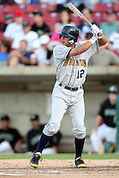 September 10, 2009: Frenando Garcia of the Burlington Bees. The Bees are the Midwest League affiliate for the Kansas City Royals. Photo by: Chris Proctor/Four Seam Images
