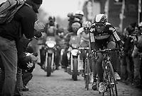 Paris-Roubaix 2012 ..Juan Antonio Flecha at Carrefour de l'Arbre