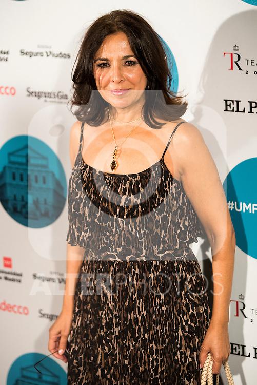 Isabel Gemio during the concert of Enrique Bunbury at the Teatro Real in Madrid. July 26. 2016. (ALTERPHOTOS/Borja B.Hojas)