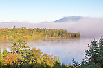 Mount Katahdin in Baxter State Park, Maine, USA