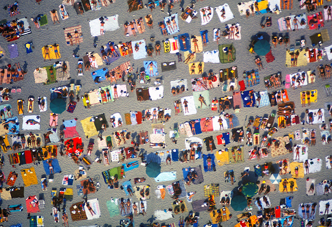 Aerial, Labor Day, Atlantic City, New Jersey