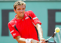 5-6-06,France, Paris, Tennis , Roland Garros, Benneteau