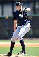 March 26, 2010:  Pitcher Sean Black of the New York Yankees organization during Spring Training at the Yankees Minor League Complex in Tampa, FL.  Photo By Mike Janes/Four Seam Images