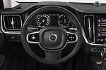 Car pictures of steering wheel view of a 2020 Volvo V60 Inscription 5 Door Wagon