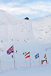 Italy, Veneto, Province Belluno, ski run at Passo di Fedaia | Italien, Venetien, Provinz Belluno, Skipiste am Fedaiapass
