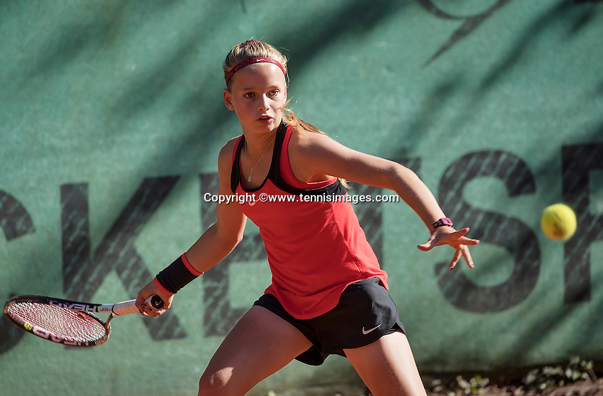 Hilversum, Netherlands, August 10, 2016, National Junior Championships, NJK, Anouck Vrancken-Peeters (NED) <br /> Photo: Tennisimages/Henk Koster