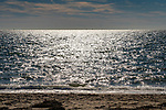 Long Island Sound from Hammonasset Beach State Park, CT.
