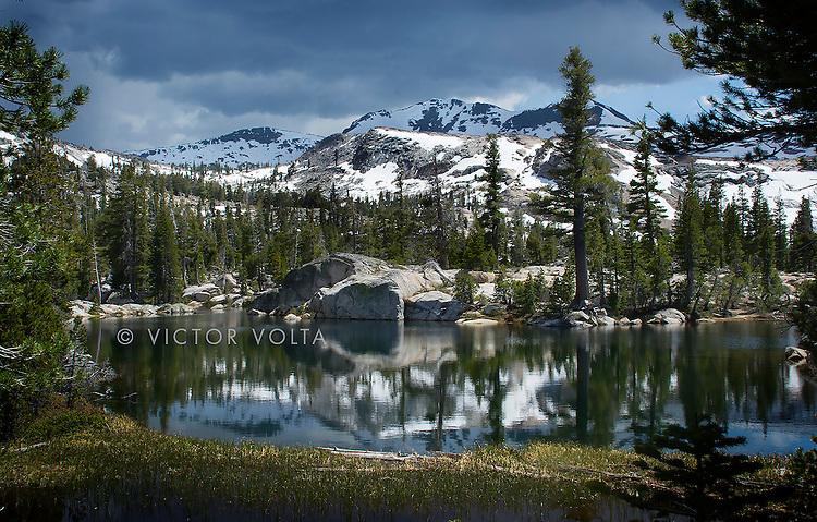 Upper Velma Lake - Desolation Wilderness
