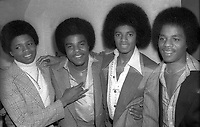 1978 FILE PHOTO<br /> New York City<br /> The Jacksons at Studio 54<br /> Photo by Adam Scull-PHOTOlink.net