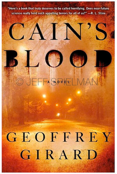 CAIN'S BLOOD, by Geoffrey Girard<br /> <br /> Published September 3, 2013<br /> Hardcover First American Edition<br /> A Touchstone Book<br /> Published by Simon & Schuster<br /> Jacket Design:  Ervin Serrano<br /> <br /> Photo of Empty Road in Central Park at Night Available for Commercial and Editorial Licensing from Getty Images.  Please go to www.gettyimages.com and search the keyword box for image # sb10066168c-001
