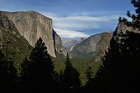 Yosemite Valley from Tunnel view, Yosemite National Park, California, USA