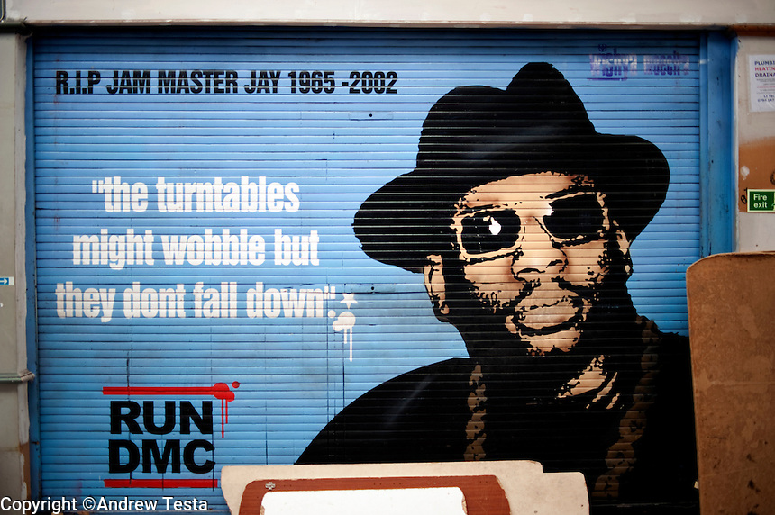 UK. London. 17th July 2010.A shop front in Brixton market..©Andrew Testa for the New York Times