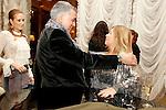 Juan Ramon Lucas y Sandra Ibarra durante la fiesta de Cristina Oiticia mujer de Paulo Cpelho en Madrid. November 23, 2011. (ALTERPHOTOS/Alvaro Hernandez)