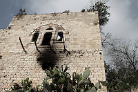 Remains of a house in Lifta, a Palestinian village in the outskirts of Jerusalem, whose Palestinian inhabitants fled in 1948. The village, the last standing Palestinian village of its kind, is about to be turned into a luxury Israeli neighborhood,  Photo by Quique Kierszenbaum