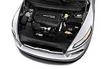 Car Stock 2014 JEEP Cherokee Longitude 4 Door SUV Engine  high angle detail view