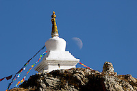 Chorten on the Kora at Ganden Monastery in Tibet