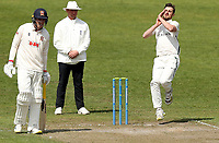 Ed Barnard of Worcestershire in bowling action during Worcestershire CCC vs Essex CCC, LV Insurance County Championship Group 1 Cricket at New Road on 30th April 2021