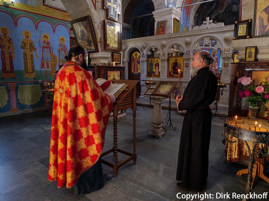 Kloster Motsameta, Imeretien - Imereti;, Georgien, Europa<br /> inside church, monastery Motsameta,  Inereti,  Georgia, Europe